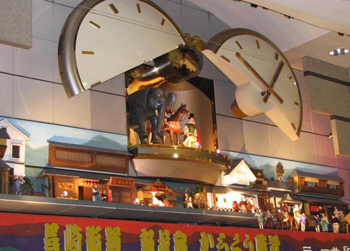 飯塚本町商店街からくり時計