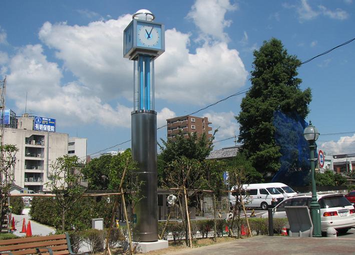諫早市役所前公園時計